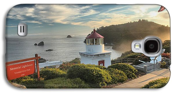 Foggy Beach Galaxy S4 Cases - Lighthouse Walk Galaxy S4 Case by Adam Jewell