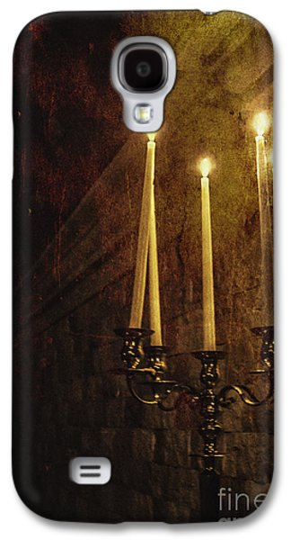 Candle Stand Galaxy S4 Cases - Lighting The Way Galaxy S4 Case by Margie Hurwich