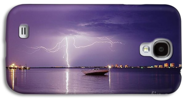 Lightning On The Indian River Galaxy S4 Case by Lynda Dawson-Youngclaus