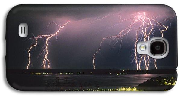 Lightning Strike Galaxy S4 Case by King Wu