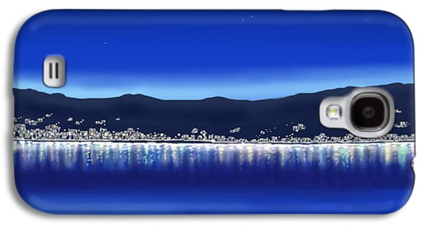 Digital Galaxy S4 Cases - Lights on water Galaxy S4 Case by Veronica Minozzi