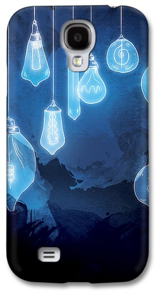 Light Galaxy S4 Cases - Lights Galaxy S4 Case by Randoms Print