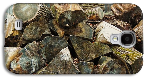 Winter Wood Galaxy S4 Case by Todd Sherlock