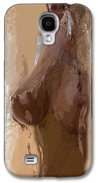 Innocence Mixed Media Galaxy S4 Cases - Like a Virgin Galaxy S4 Case by Stefan Kuhn