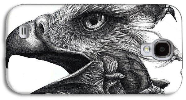 Betta Galaxy S4 Cases - Like Smoke Galaxy S4 Case by Danielle Trudeau