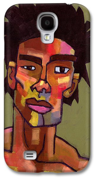 Portraiture Galaxy S4 Cases - LIkes to Party Galaxy S4 Case by Douglas Simonson