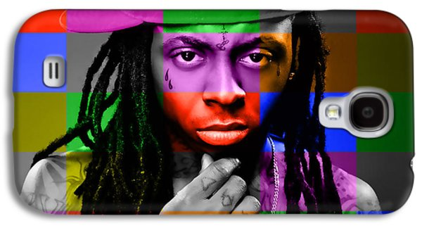 Lil Wayne Galaxy S4 Cases - Lil Wayne Galaxy S4 Case by Marvin Blaine
