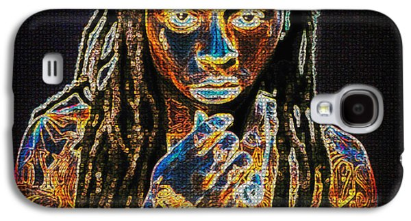 Lil Wayne Galaxy S4 Cases - Lil Wayne Galaxy S4 Case by Mountain Dreams