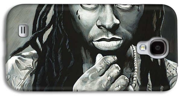 Lil Wayne Galaxy S4 Cases - Lil Wayne Galaxy S4 Case by Travis Knight