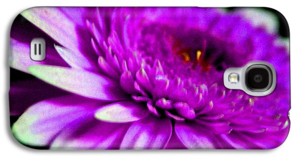 Abstract Digital Pastels Galaxy S4 Cases - Lilac Beauty H b Galaxy S4 Case by Gert J Rheeders