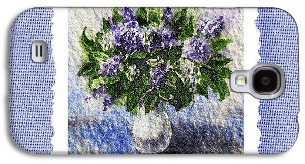 Lilacs Galaxy S4 Cases - Lilac Bouquet  Galaxy S4 Case by Irina Sztukowski