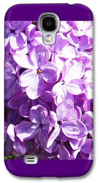 Lilacs Galaxy S4 Cases - Lilac Galaxy S4 Case by Irina Sztukowski