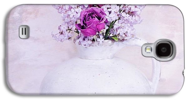 Lilacs And Roses Galaxy S4 Case by Marsha Heiken