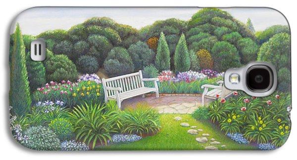 Original Art Pastels Galaxy S4 Cases - Lilies  Galaxy S4 Case by Bruce MacBride