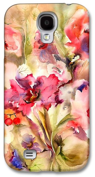 Lilies Galaxy S4 Case by Neela Pushparaj