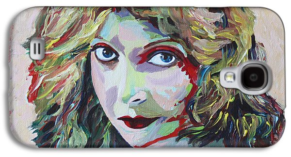 First Lady Paintings Galaxy S4 Cases - Lillian Gish Portrait Galaxy S4 Case by Robert Yaeger