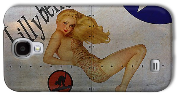 Lillybelle Nose Art Galaxy S4 Case by Cinema Photography