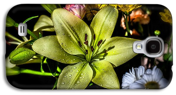 Stamen Digital Galaxy S4 Cases - Lily Galaxy S4 Case by Adrian Evans