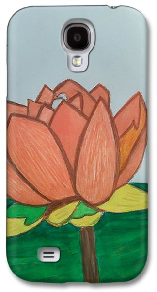 Etc. Drawings Galaxy S4 Cases - Lily And The Bee Galaxy S4 Case by Earnestine Clay