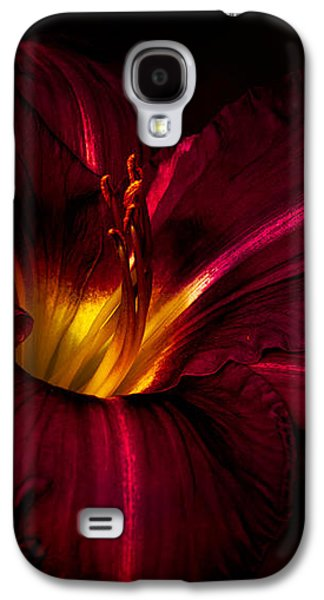 Rich Galaxy S4 Cases - Lily Number Nine Galaxy S4 Case by Bob Orsillo