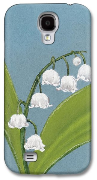 Light Pastels Galaxy S4 Cases - Lily of the Valley Galaxy S4 Case by Anastasiya Malakhova