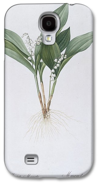 Recently Sold -  - Botanical Galaxy S4 Cases - Lily of the Valley Galaxy S4 Case by Pierre Joseph Redoute