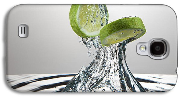Action Photographs Galaxy S4 Cases - Lime FreshSplash Galaxy S4 Case by Steve Gadomski