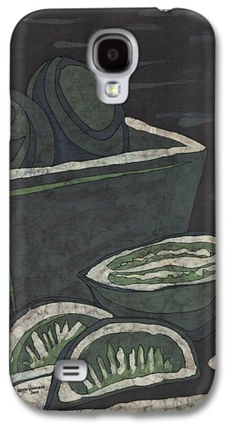Food And Beverage Tapestries - Textiles Galaxy S4 Cases - Lime Galaxy S4 Case by Kevin Houchin