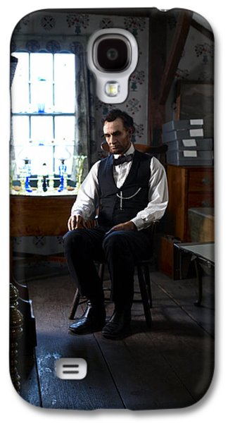 Ray Downing Galaxy S4 Cases - Lincoln in the Attic 2 Galaxy S4 Case by Ray Downing