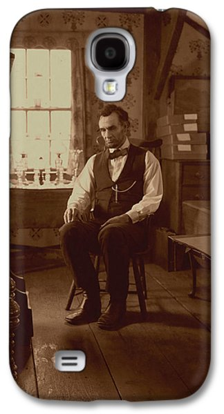 Ray Downing Galaxy S4 Cases - Lincoln in the Attic Galaxy S4 Case by Ray Downing