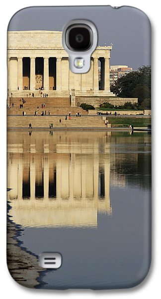 Galaxy S4 Cases - Lincoln Memorial Galaxy S4 Case by David Byron Keener