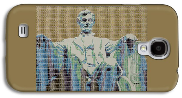 1865 Mixed Media Galaxy S4 Cases - Lincoln Memorial Galaxy S4 Case by Gary Hogben
