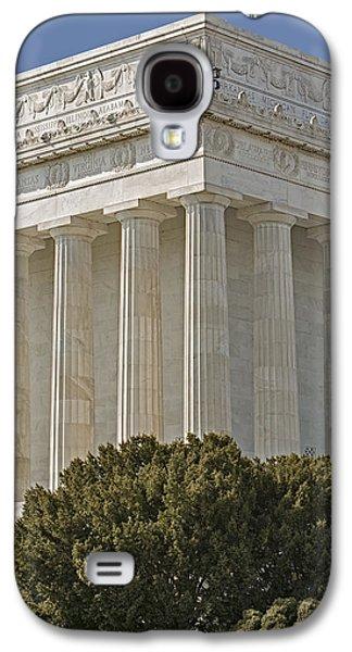 Monument Galaxy S4 Cases - Lincoln Memorial Pillars Galaxy S4 Case by Susan Candelario