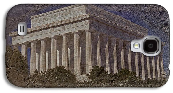 Lincoln Memorial Galaxy S4 Case by Skip Willits