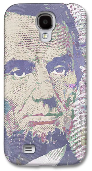 Slavery Mixed Media Galaxy S4 Cases - Lincoln Reimagined Vertical Galaxy S4 Case by Tony Rubino