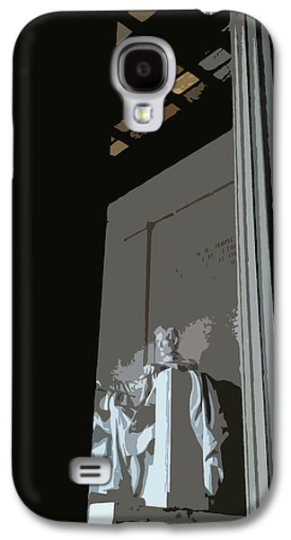Greek Icon Paintings Galaxy S4 Cases - Lincoln Galaxy S4 Case by Julio R Lopez Jr
