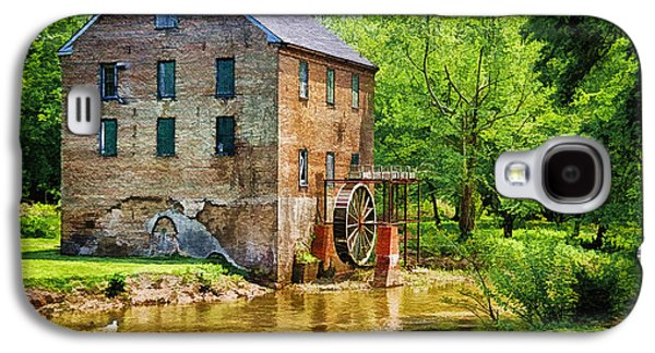 Slaves Galaxy S4 Cases - Lindale Old Brick Mill Galaxy S4 Case by Priscilla Burgers
