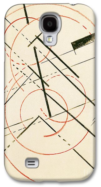 Abstract Forms Drawings Galaxy S4 Cases - Linear Composition Galaxy S4 Case by Lyubov Sergeevna Popova