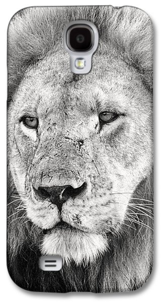 Man Cave Photographs Galaxy S4 Cases - Lion King Galaxy S4 Case by Adam Romanowicz