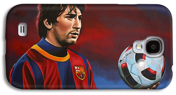 Lionel Messi  Galaxy S4 Case by Paul Meijering