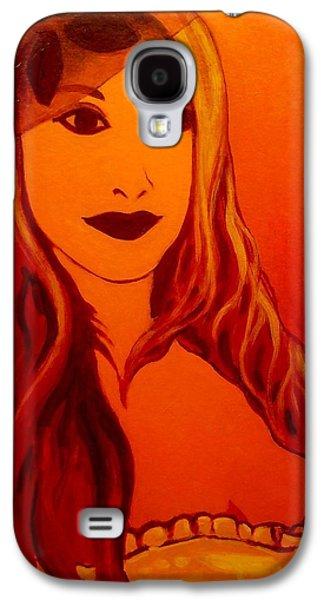 Lisa Darling II - The Irish Burlesque School Galaxy S4 Case by John  Nolan