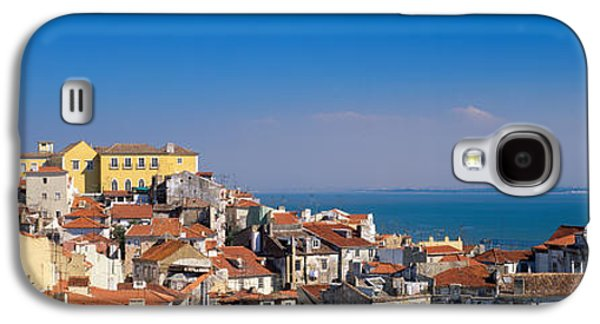 Lisbon, Cityscape, Skyline, Portugal Galaxy S4 Case by Panoramic Images