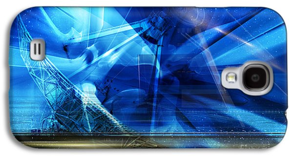 Conceptual Photographs Galaxy S4 Cases - Listening Galaxy S4 Case by Keith Kapple