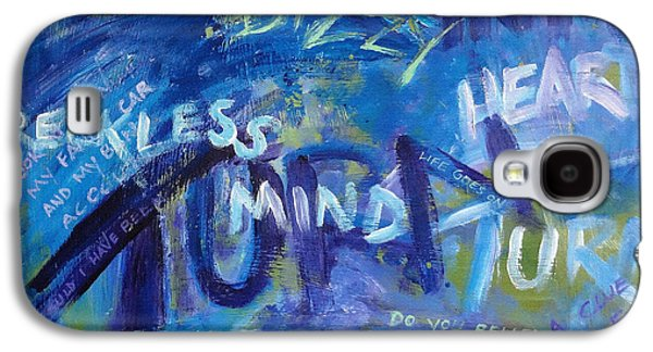 The Dave Matthews Band Paintings Galaxy S4 Cases - Listening to Dave Matthews Galaxy S4 Case by Ginny Gaura