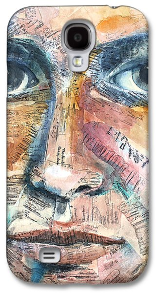 Mixed Media Galaxy S4 Cases - Listperson III Galaxy S4 Case by Patricia Allingham Carlson