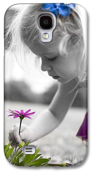 Girl Galaxy S4 Cases - Little Angel Galaxy S4 Case by Dustin K Ryan