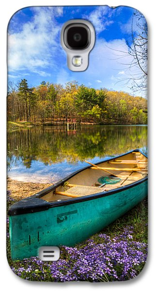Landscapes Photographs Galaxy S4 Cases - Little Bit of Heaven Galaxy S4 Case by Debra and Dave Vanderlaan