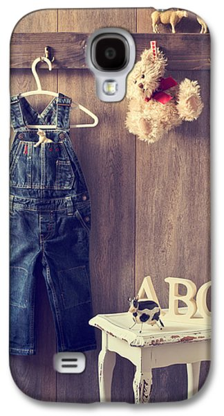 Country Cottage Galaxy S4 Cases - Little Boys Bedroom Galaxy S4 Case by Amanda And Christopher Elwell