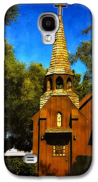 Historical Images Galaxy S4 Cases - Little Church of the West Galaxy S4 Case by Julie Palencia