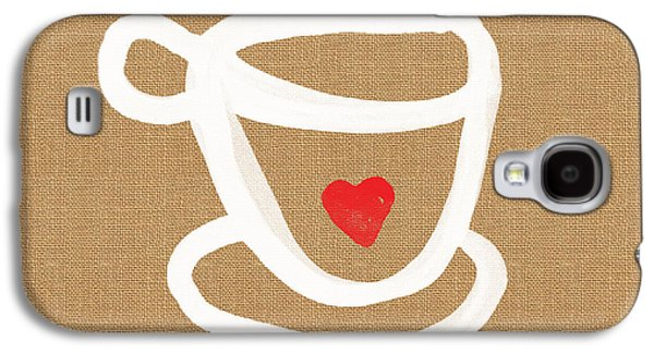 Little Cup Of Love Galaxy S4 Case by Linda Woods